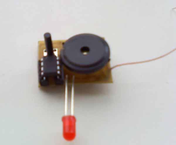 Индикатор скрытой проводки своими руками печатная плата