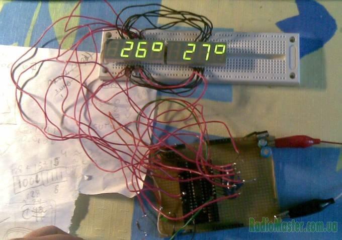 Термометр на ATT.